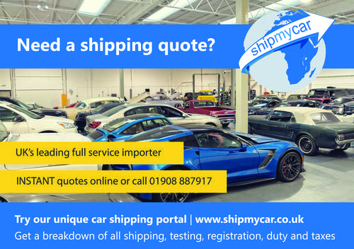 Car Shipping Quotes >> Classic Car Shipping From The Usa Dubai Etc Full Service