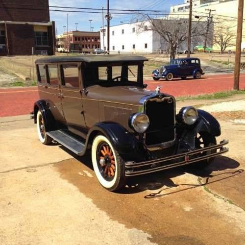 1928 Peerless 4DR Sedan For Sale (picture 1 of 5)