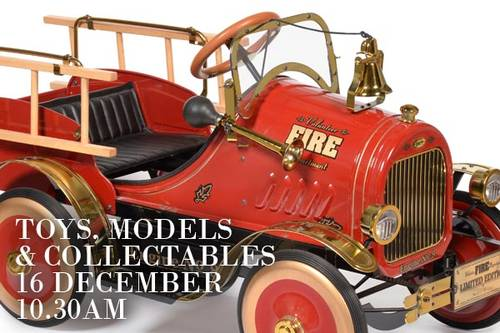 1970 LIMITED EDITION 595/ 2999 FIRE BRIGADE PEDAL CAR SOLD (picture 1 of 2)