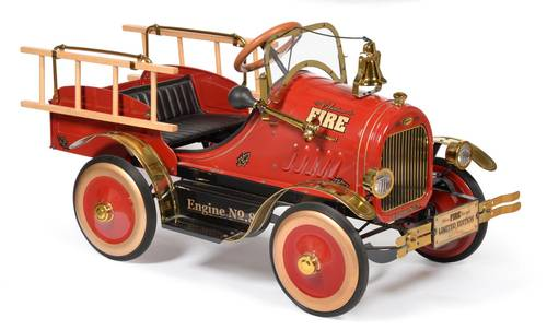 1970 LIMITED EDITION 595/ 2999 FIRE BRIGADE PEDAL CAR SOLD (picture 2 of 2)