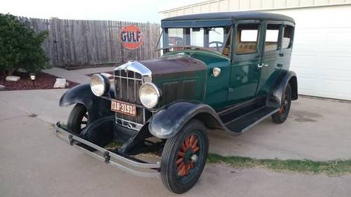 1928 Durant 4 door (Rare) For Sale (picture 1 of 6)