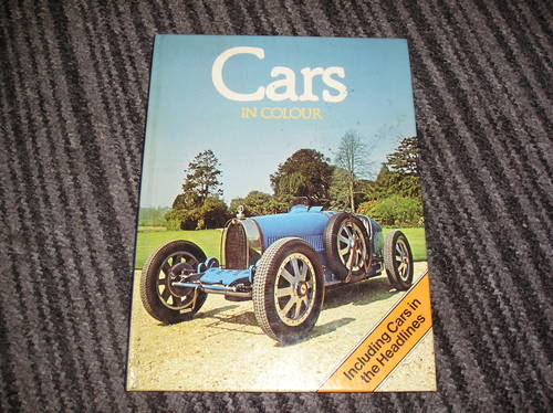 0000 cars in colour hardback For Sale (picture 1 of 2)