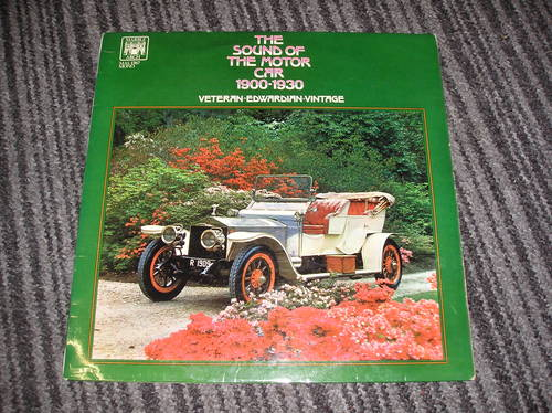 0000 the sound of the motor car. vinyl lp For Sale (picture 1 of 2)