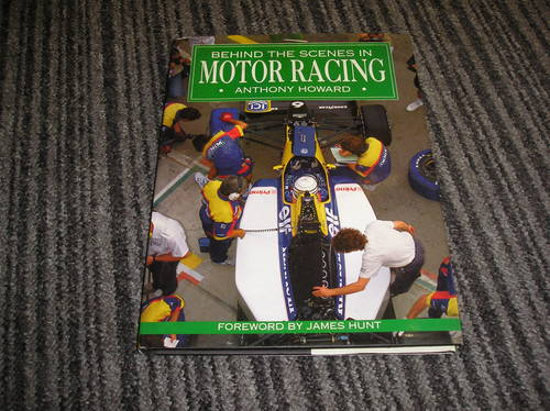 0000 behind the scenes in motor racing   For Sale (picture 1 of 2)