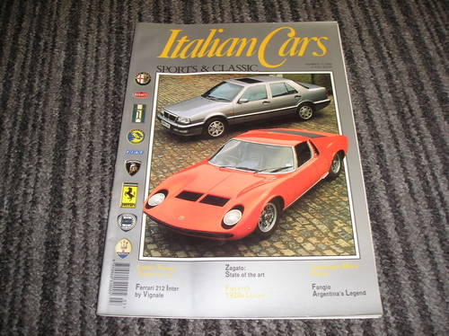 italian cars sports and classic no 11 For Sale (picture 1 of 2)