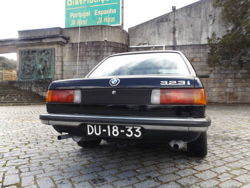 BMW 323i-1981 For Sale (picture 5 of 6)