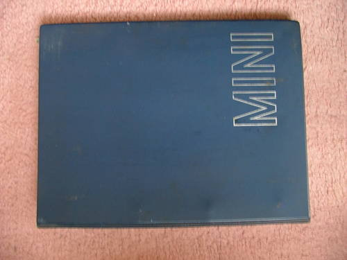 MINI Workshop Manual AKD4935. RARE! SOLD (picture 1 of 1)