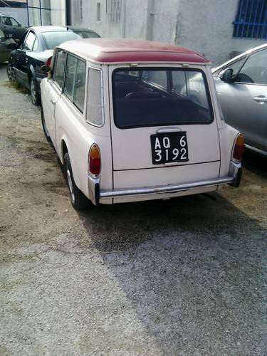 1970 Autobianchi Bianchina Panorama Station Wagon Giardiniera For Sale (picture 2 of 6)