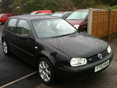 2003 RARE GOLF V6 4 MOTION For Sale (picture 1 of 6)