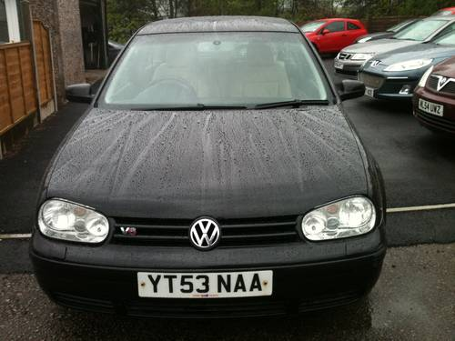 2003 RARE GOLF V6 4 MOTION For Sale (picture 2 of 6)