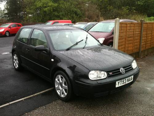 2003 RARE GOLF V6 4 MOTION For Sale (picture 3 of 6)