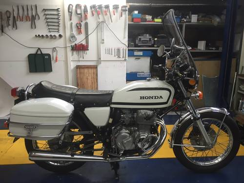 1978 Honda CB 400 F Swiss Police Motorcycle For Sale (picture 2 of 6)