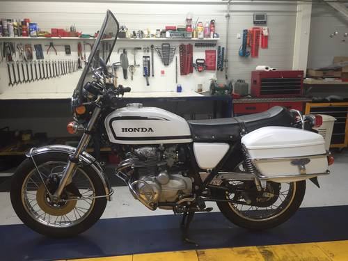 1978 Honda CB 400 F Swiss Police Motorcycle For Sale (picture 3 of 6)