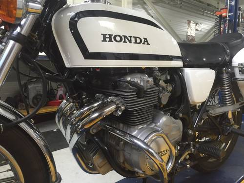 1978 Honda CB 400 F Swiss Police Motorcycle For Sale (picture 4 of 6)