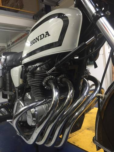 1978 Honda CB 400 F Swiss Police Motorcycle For Sale (picture 5 of 6)