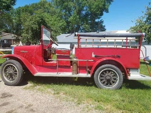 1926 Internatioanal Fire Truck For Sale (picture 1 of 6)