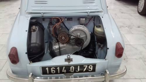 1959 Piaggio Vespa 400 Trasformabile HIGHLY COLLECTIBLE For Sale (picture 4 of 6)