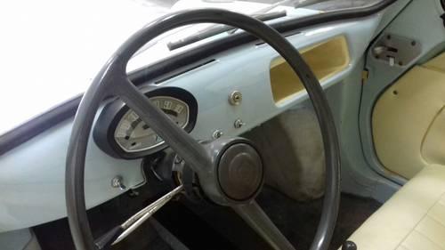 1959 Piaggio Vespa 400 Trasformabile HIGHLY COLLECTIBLE For Sale (picture 5 of 6)