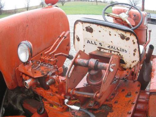 1960 Allis Chalmers D-19 Tractor For Sale (picture 5 of 6)