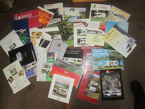 Motorhomes,campers and Caravans Brochures. For Sale (picture 1 of 6)
