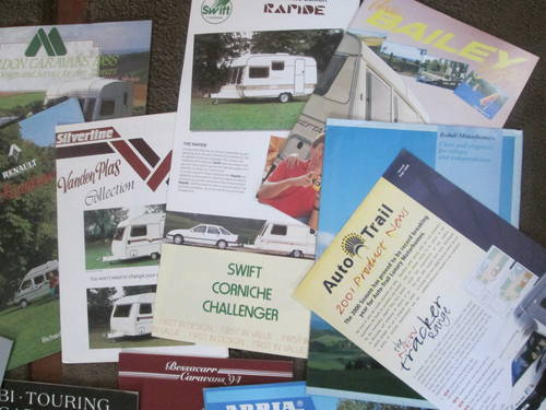 Motorhomes,campers and Caravans Brochures. For Sale (picture 2 of 6)
