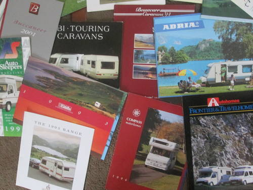 Motorhomes,campers and Caravans Brochures. For Sale (picture 3 of 6)