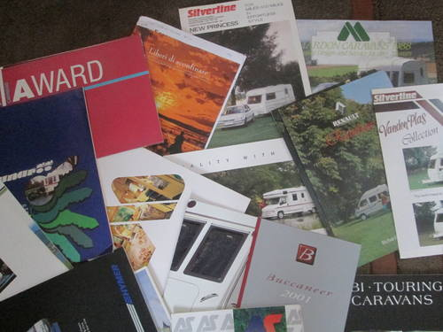 Motorhomes,campers and Caravans Brochures. For Sale (picture 4 of 6)