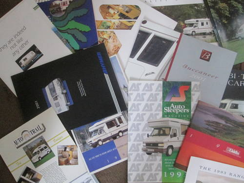 Motorhomes,campers and Caravans Brochures. For Sale (picture 5 of 6)