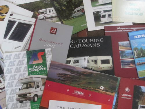 Motorhomes,campers and Caravans Brochures. For Sale (picture 6 of 6)