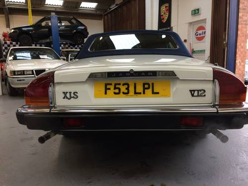 1988 JAGUAR XJS V12 CONVERTIBLE For Sale (picture 3 of 6)