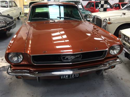 1966 Ford Mustang 289 for sale  For Sale (picture 1 of 6)