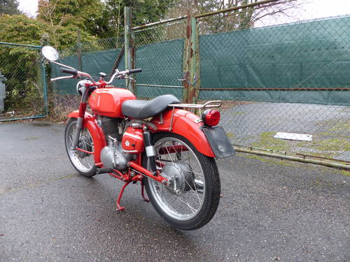 1963 Beautiful Moto Morini Tresette 175, top condition For Sale (picture 3 of 6)