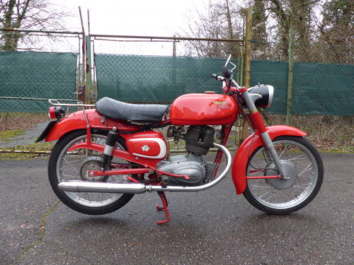 1963 Beautiful Moto Morini Tresette 175, top condition For Sale (picture 5 of 6)