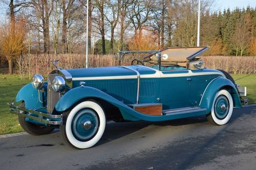1929 (795) Isotta Fraschini Tipo 8A Castagna Roadster For Sale (picture 1 of 6)