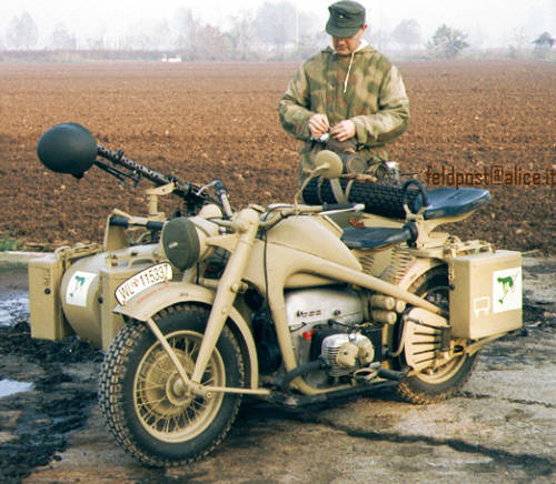 1944 Zundapp ks 750 SOLD (picture 1 of 2)