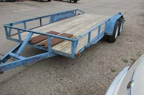 2000 Open Car Trailer For Sale (picture 1 of 4)