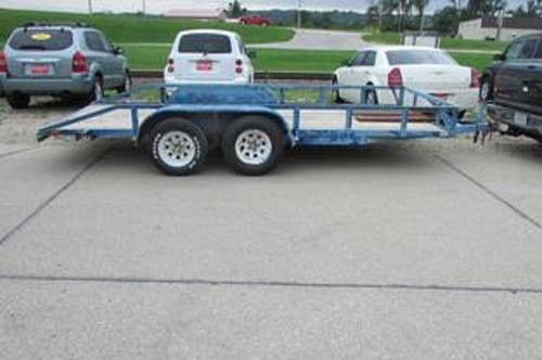 2000 Open Car Trailer For Sale (picture 2 of 4)