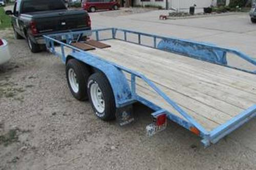 2000 Open Car Trailer For Sale (picture 4 of 4)