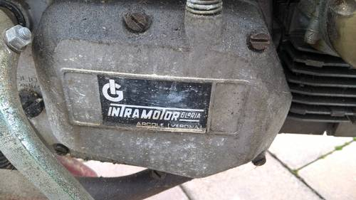 1976 Gloria Intramotor Moped 50cc BARN FIND and still runs!! For Sale (picture 3 of 6)
