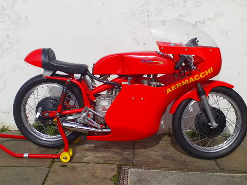 1961 AERMACCHI HARLEY DAVIDSON ALA D'ORO 250 SOLD (picture 1 of 6)