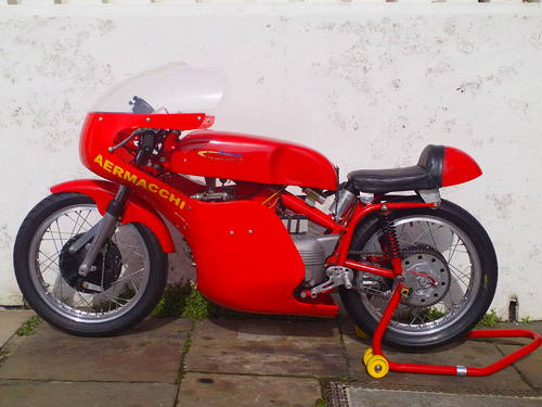1961 AERMACCHI HARLEY DAVIDSON ALA D'ORO 250 SOLD (picture 3 of 6)