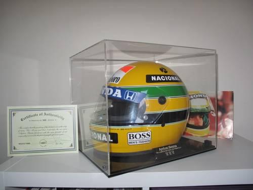 Ayrton Senna Helmet For Sale (picture 1 of 2)