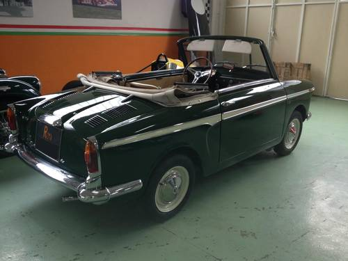 1963 AUTOBIANCHI BIANCHINA CABRIOLET  For Sale (picture 1 of 6)