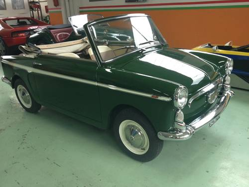 1963 AUTOBIANCHI BIANCHINA CABRIOLET  For Sale (picture 2 of 6)