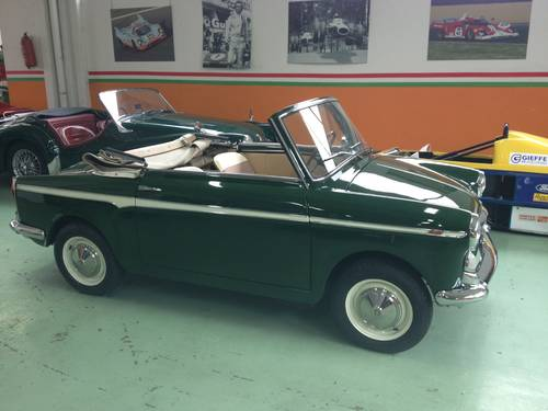 1963 AUTOBIANCHI BIANCHINA CABRIOLET  For Sale (picture 3 of 6)