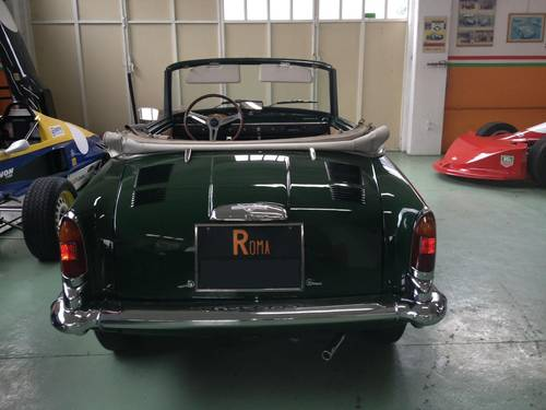 1963 AUTOBIANCHI BIANCHINA CABRIOLET  For Sale (picture 4 of 6)