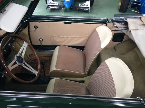 1963 AUTOBIANCHI BIANCHINA CABRIOLET  For Sale (picture 5 of 6)