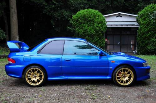 Impreza 22B Replica by Launsport.44,479 miles from new For Sale (picture 1 of 6)