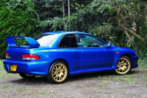 Impreza 22B Replica by Launsport.44,479 miles from new For Sale (picture 3 of 6)