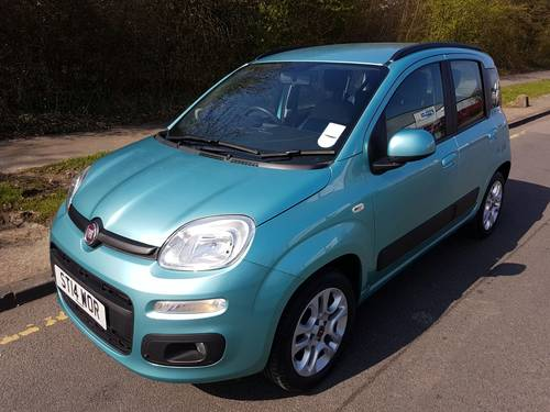 2014 Fiat Panda Twin Air Lounge Auto For Sale (picture 1 of 6)